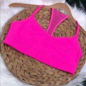 VS | Sports Bra Neon Pink Small